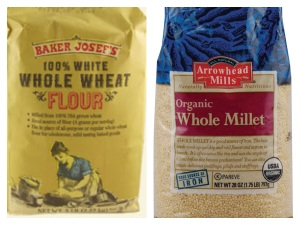 wheat flour and millet